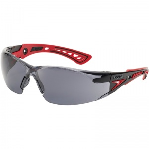 Bollé Rush+ Smoke Lens Safety Glasses RUSHPPSF
