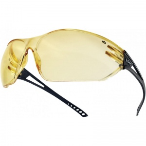 Bollé Slam Yellow Safety Glasses SLAPSJ