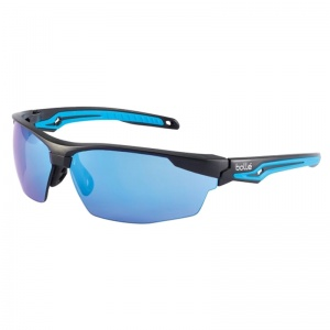 Bollé Tryon Flash Blue Lens Safety Glasses TRYOFLASH