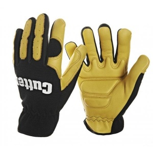 Cutter CW700 Leather Strimmer and Trimmer Work Gloves