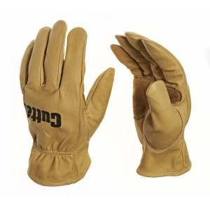 Cutter CW300 Leather Gardening Water-Repellent Gloves