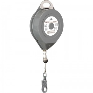 Delta Plus AN116T METAL Self-Retractable 25m Fall Arrest Block with Swivel Connector
