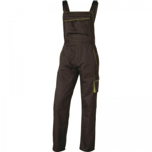 Delta Plus M6SAL Panostyle Grey and Green Working Dungarees