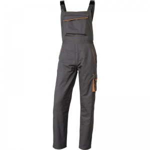 Delta Plus M6SAL Panostyle Grey and Orange Working Dungarees
