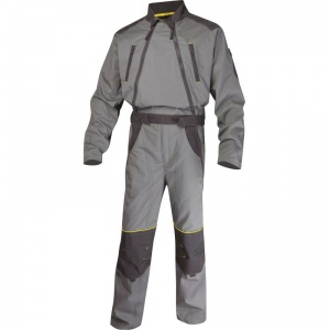 Delta Plus MCCDZ MACH2 Grey Corporate Working Overalls