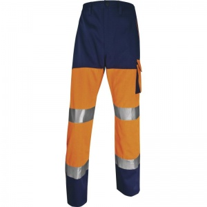 Delta Plus PHPA2 Panostyle Hi-Vis Orange Working Trousers