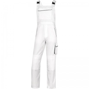 Delta Plus M6SAL Panostyle White Painters Dungarees