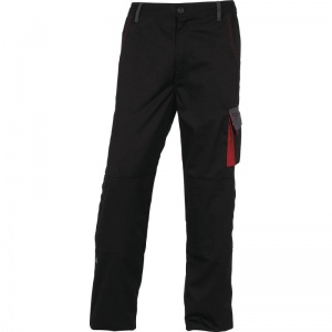 Delta Plus DMACHPAN D-Mach Black and Red Working Trousers