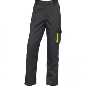 Delta Plus DMACHPAN D-Mach Grey and Yellow Working Trousers