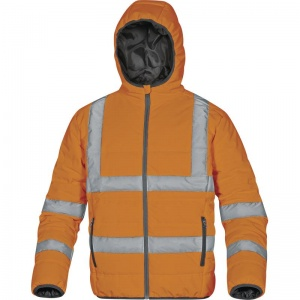 Delta Plus DOONHV High Visibility Orange Quilted Thermal Jacket