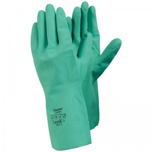 Ejendals Tegera 18601 Diamond Grip Chemical-Resistant Nitrile Gauntlets