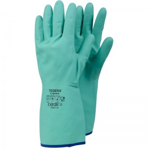 Ejendals Tegera 18603 Food-Safe Chemical-Resistant Nitrile Gloves