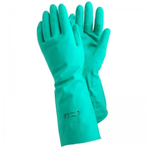 Ejendals Tegera 48 Nitrile Chemical-Resistant Extra Long Gauntlets