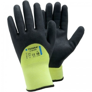 Ejendals Tegera 618 Hi-Vis Water-Repellent Gloves