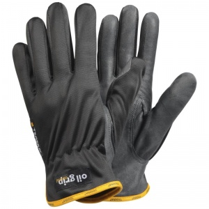 Ejendals Tegera 6614 Leather Oil Grip Work Gloves