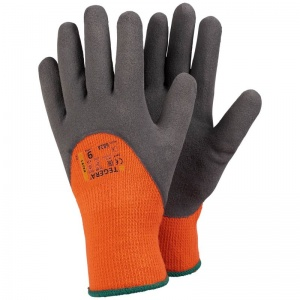 Ejendals Tegera 682A Hi-Vis Palm-Coated Thermal Safety Gloves