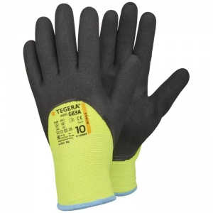 Ejendals Tegera 683A Hi-Vis Water-Resistant Thermal Gloves