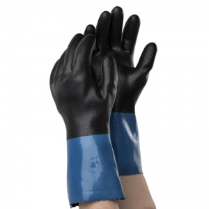 Ejendals Tegera 71000 Nitrile and PVC Chemical-Resistant Gauntlets