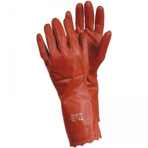 Ejendals Tegera 8170 PVC Chemical-Resistant Diamond Grip Gloves