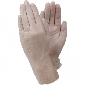 Ejendals Tegera 819 Disposable Latex-Free PVC Gloves