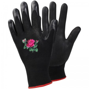 Ejendals Tegera 90066 Ladies' Floral Water-Repellent Gardening Gloves