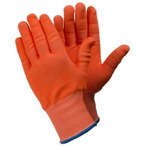 Ejendals Tegera 910 Level 5 Cut-Resistant Hi-Vis Work Gloves