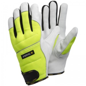 Ejendals Tegera 951 Hi-Vis Chainsaw Gloves