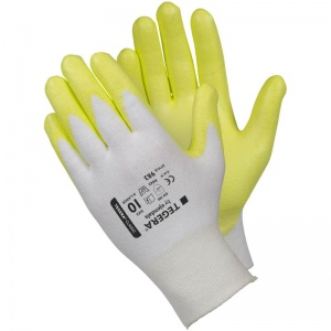 Ejendals Tegera 983 Level 4 Cut-Resistant High-Vis Gloves