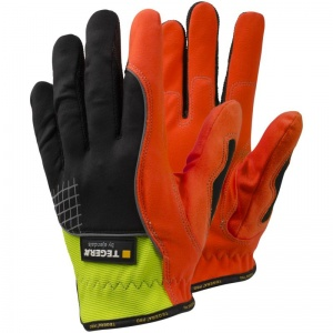 Ejendals Tegera 9900 Hi-Vis Elasticated Work Gloves
