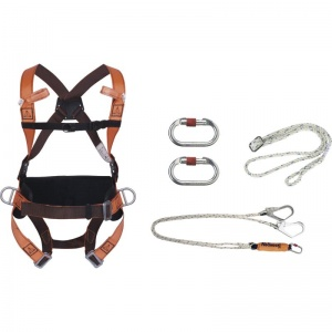 Delta Plus ELARA320 Positioning and Fall Arrest Safety Harness Kit