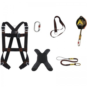 Deta Plus ELARA340HGT Fall Arrest Kit (Harness, Lanyard, Arrest Block and More)