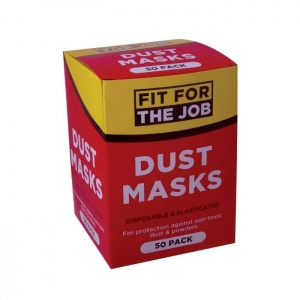 Fit for the Job Dust Mask (Pack of 50)