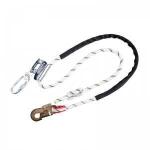 Portwest FP26 Work Positioning Lanyard with Grip Adjuster