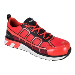 Portwest FT17 OlymFlex Barcelona Red AE SBP AE Trainers with Toecap