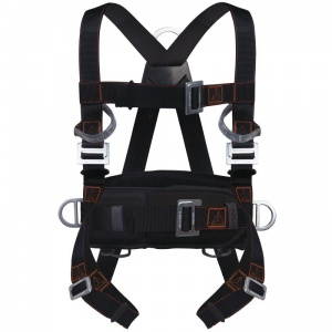 Delta Plus HAR24H 4 Point Fall Arrest Harness with Positioning Belt