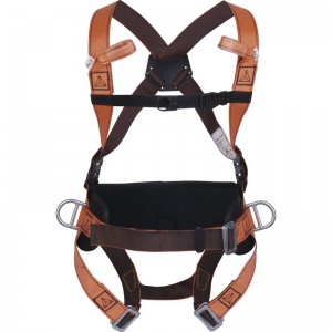 Delta Plus HAR14 4 Point Fall Arrest Harness with Positioning Belt
