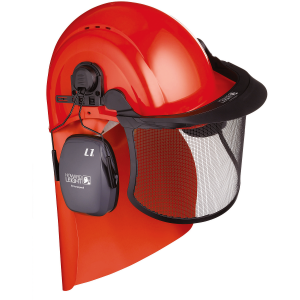 Honeywell 1017291 Forestry Kit with Helmet, Visor and Ear Defenders