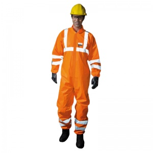 Honeywell 4509805 Ne-Hon 5+ High Visibility Orange Overalls
