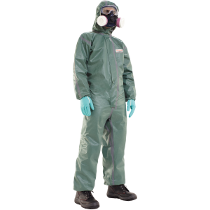 Honeywell 4500611 Spacel C4 P Green Type 4/5/6 Disposable Coveralls (Box of 25)