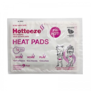 Hotteeze Self-Adhesive Heat Pad for Back Pain (Pack of 10)