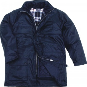 Delta Plus ISOLA 3-in-1 Navy Waterproof Parka with Removable Lining