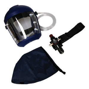 JSP Avenger Air Fed Respirator with Browgaurd