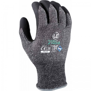 Kutlass X-Pro 5 Cut-Resistant Nitrile Palm-Coated Grip Gloves