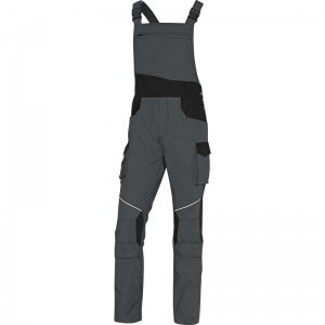 Delta Plus MCSA2 MACH2 Grey and Black Corporate Working Dungarees
