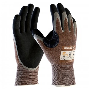 MaxiCut Oil Resistant Level 2 3/4 Coated Grip Gloves 34-205
