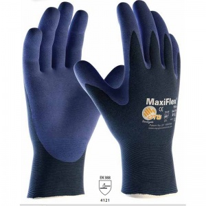 MaxiFlex Elite Palm-Coated Handling Gloves 34-274 with Knitwrist