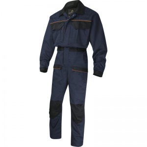 Delta Plus MCCOM Navy Corporate Overalls with Buttock Reinforcement