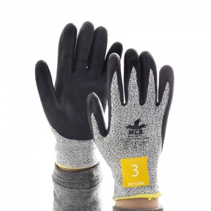 MCR Safety CT1007NF1 Nitrile Foam Cut Pro Gloves