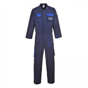 Portwest TX15 Navy Texo Contrast Coveralls