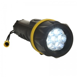 Portwest PA60 7 LED Rubber Torch